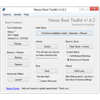Nexus Root Toolkit v1.6.2